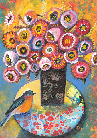 Bluebird Bouquet Image 1