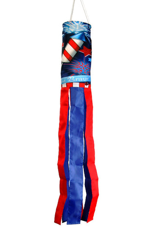 Home of the Brave Windsock Image