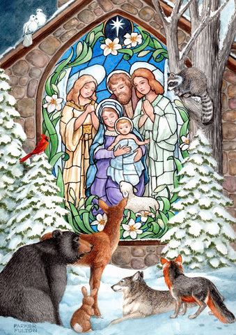 Winter Nativity Image 1