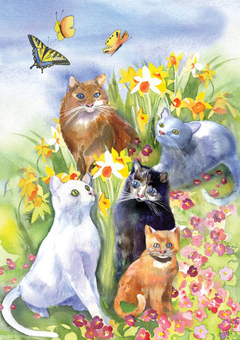 Flower Cats Image 1