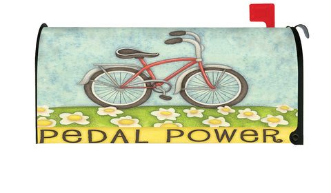 Pedal Power Mailbox Cover Image