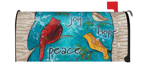 Peace Birds Mailbox Cover Image