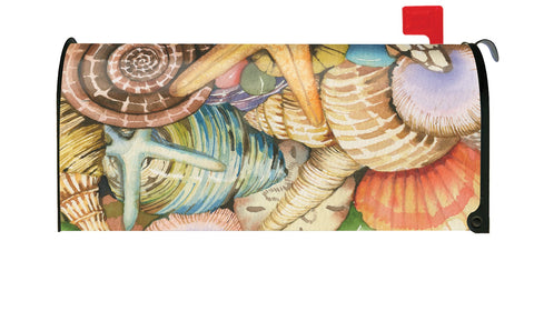 Shells of the Sea Mailbox Cover Image