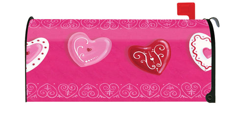 Heart Cookies Mailbox Cover Image