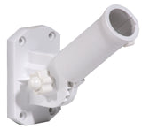 Adjustable Flag Pole Bracket White Nylon
