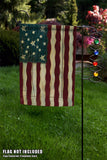 Jeweled Garden Flag Stand