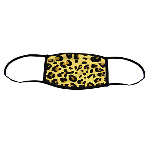 Jaguar Small Premium Triple Layer Cloth Face Mask with Ear Loop Adjusters