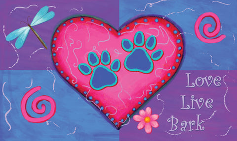 Love Live Bark Door Mat Image