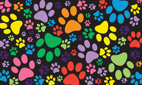 Puppy Paws Door Mat Image