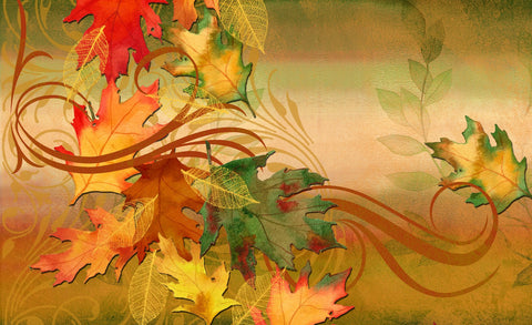Autumn Aria Door Mat Image