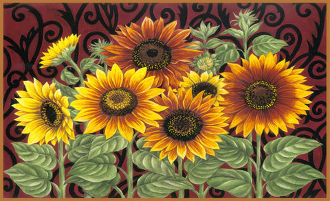 Sunflower Medley Door Mat Image