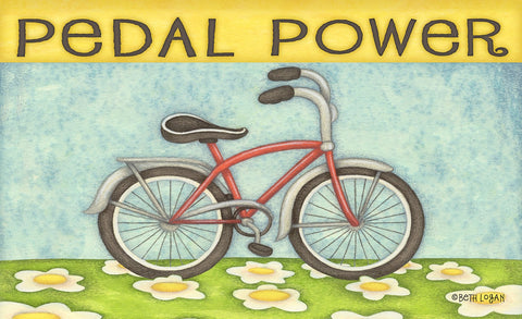 Pedal Power Door Mat Image