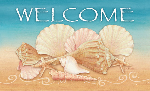 Welcome Shells Door Mat Image