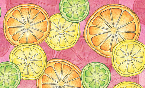 Citrus Toss Door Mat Image