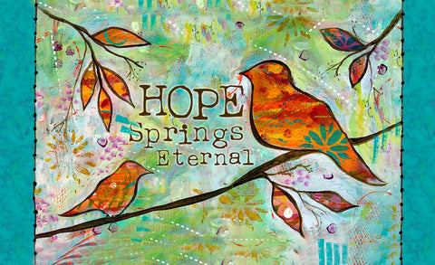 Hope Springs Eternal Door Mat Image