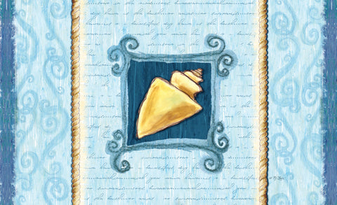 Conch Shell Door Mat Image