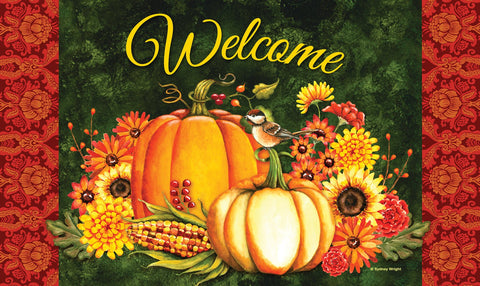 Welcome Gourds Door Mat Image