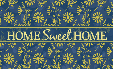 Sweet Flower Medley - Yellow Door Mat Image