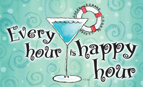 Happy Hour Door Mat Image