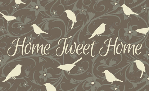 Home Tweet Home - Brown Door Mat Image