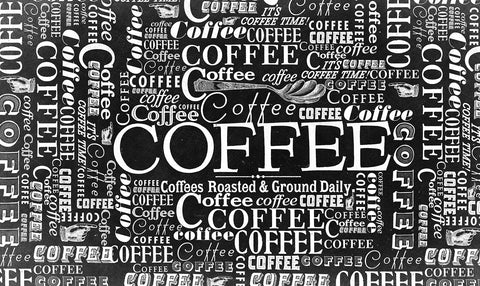 Coffee Collage Door Mat Image
