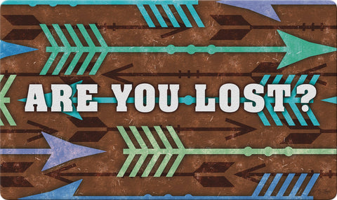Lost Arrows Door Mat Image