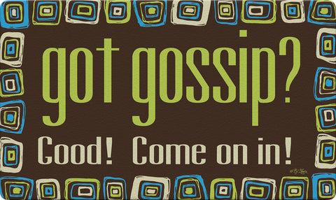 Got Gossip? Door Mat Image