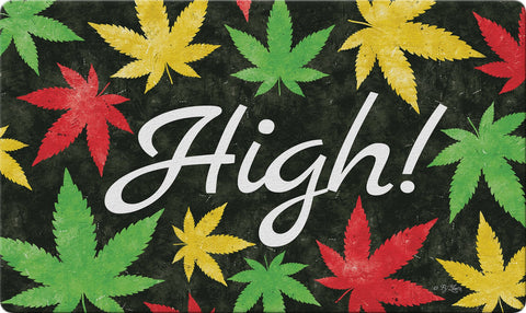 Weed High Door Mat Image