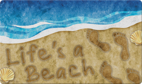 Beachy Life Door Mat Image