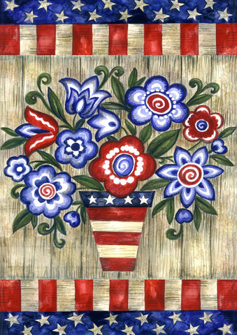 Patriotic Flowers Image 1