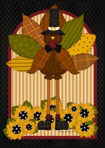 Quilted Turkey Image 1