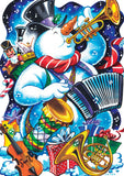One Snowman Band Image 1