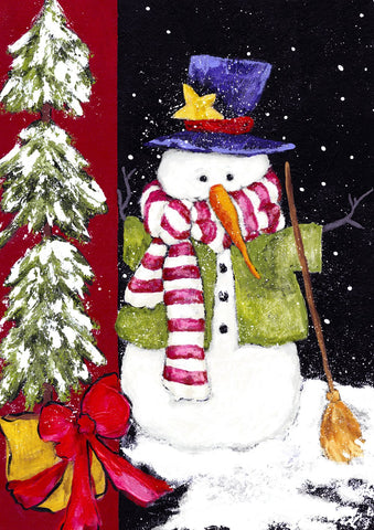 Sweeping Snowman Image 1