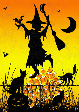 Candycorn Witch Image 1
