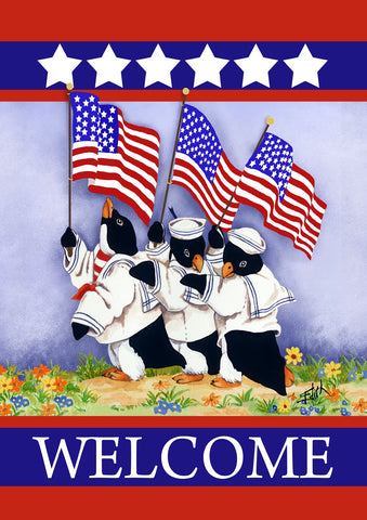 Patriotic Penguins Image 1