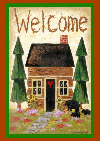 Cabin Welcome Image 1