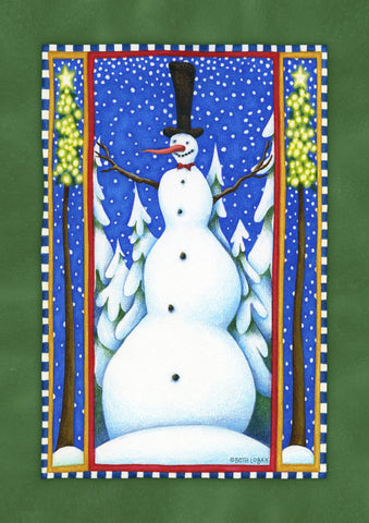 Stovepipe Snowman Image 1