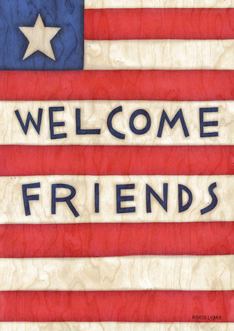 Patriotic Welcome Friends Image 1