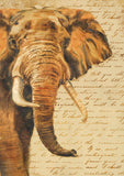 Hand Painted Elephant Image 1