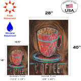 Oil Pastel Coffee Cup Image 4