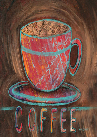 Oil Pastel Coffee Cup Image 1