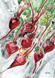 Watercolor Beets Image 1