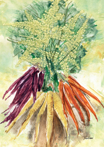 Watercolor Carrots Image 1