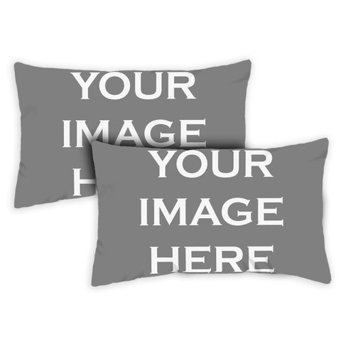 """Custom"" 12 x 19 Inch Pillow (2-Pack)"