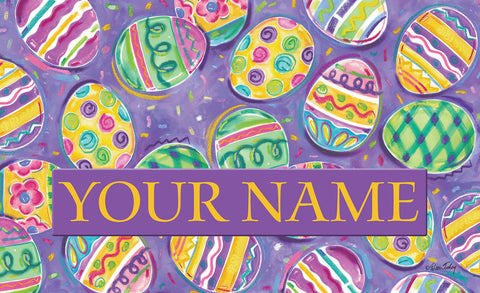 Egg Toss Personalized Mat Image