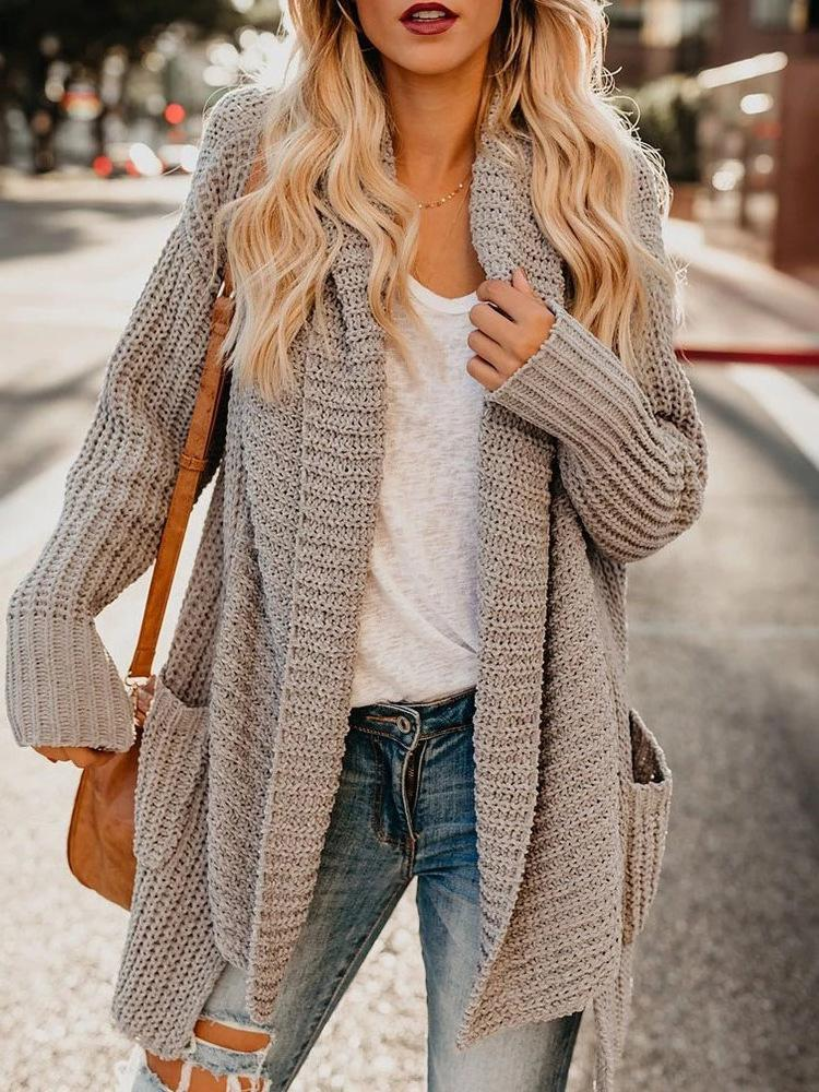 Iztzo Loose Long Sleeve Cardigan