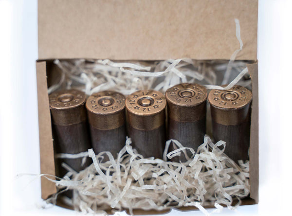 Chocolate Ammo Box 12 Gauge