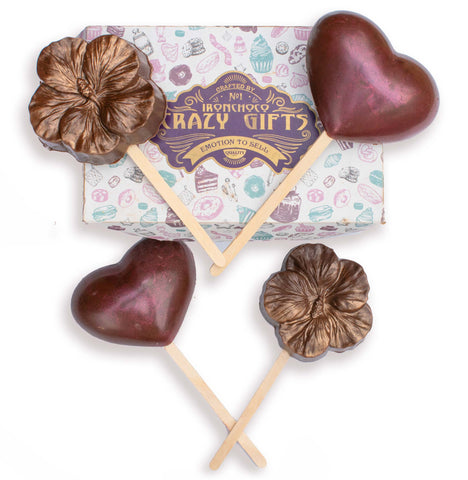 Hot chocolate Hearts & Flowers Candy–pack of 4