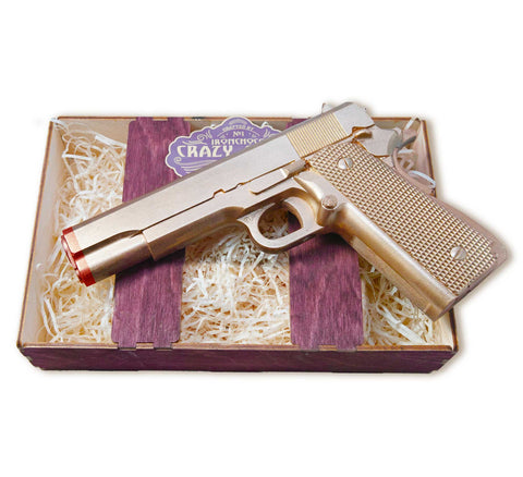 Golden Chocolate Gun - Crazy Chocolate Sets