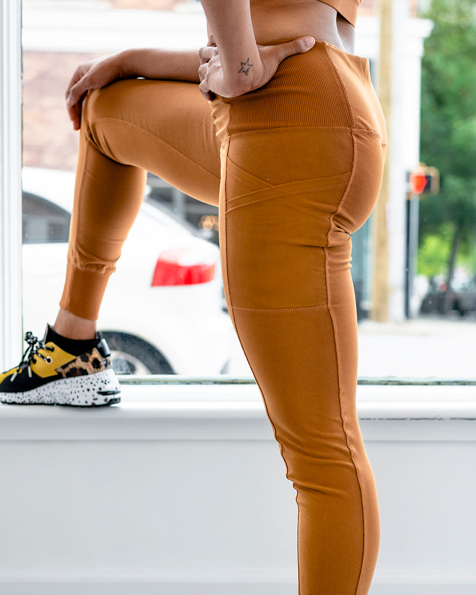 Orange Moon Leggings